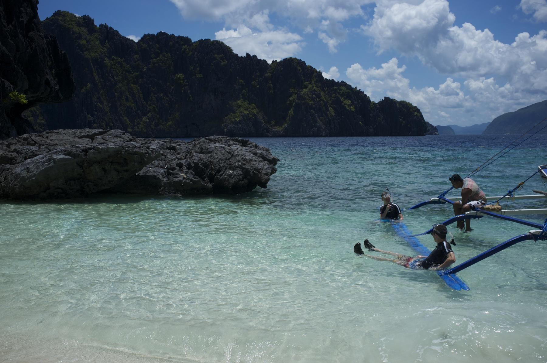 A sublime beauty of El Nido with lagoons, beaches, rocks, and underground river starting at Puerto Princesa, Palawan, Philippines