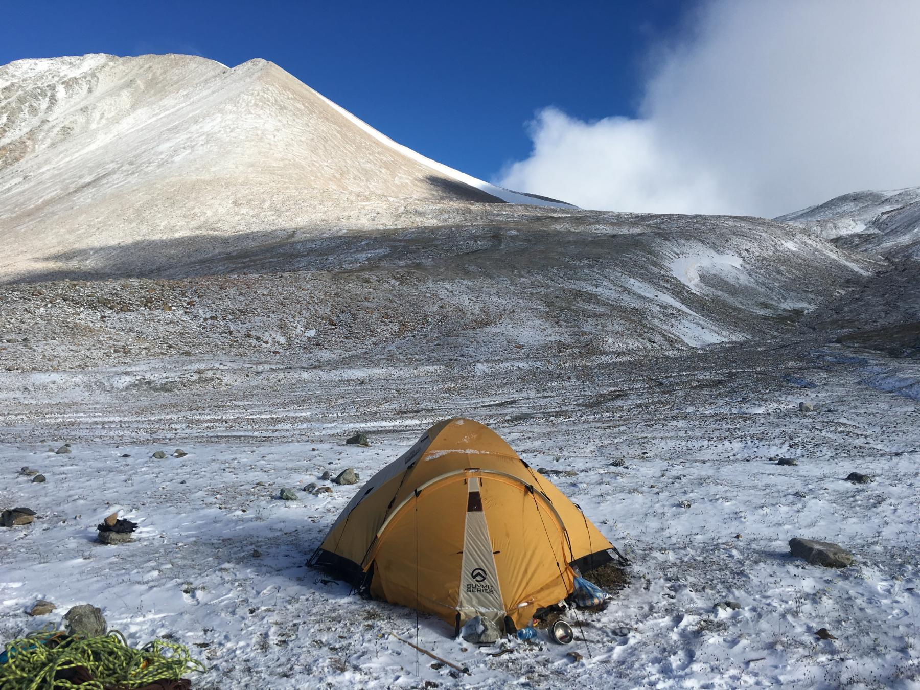 Altai Mountain Range - Base Camp and Double Peak Summit starting at Altai Mountains, Altai, Bayan-Ulgii, Mongolia