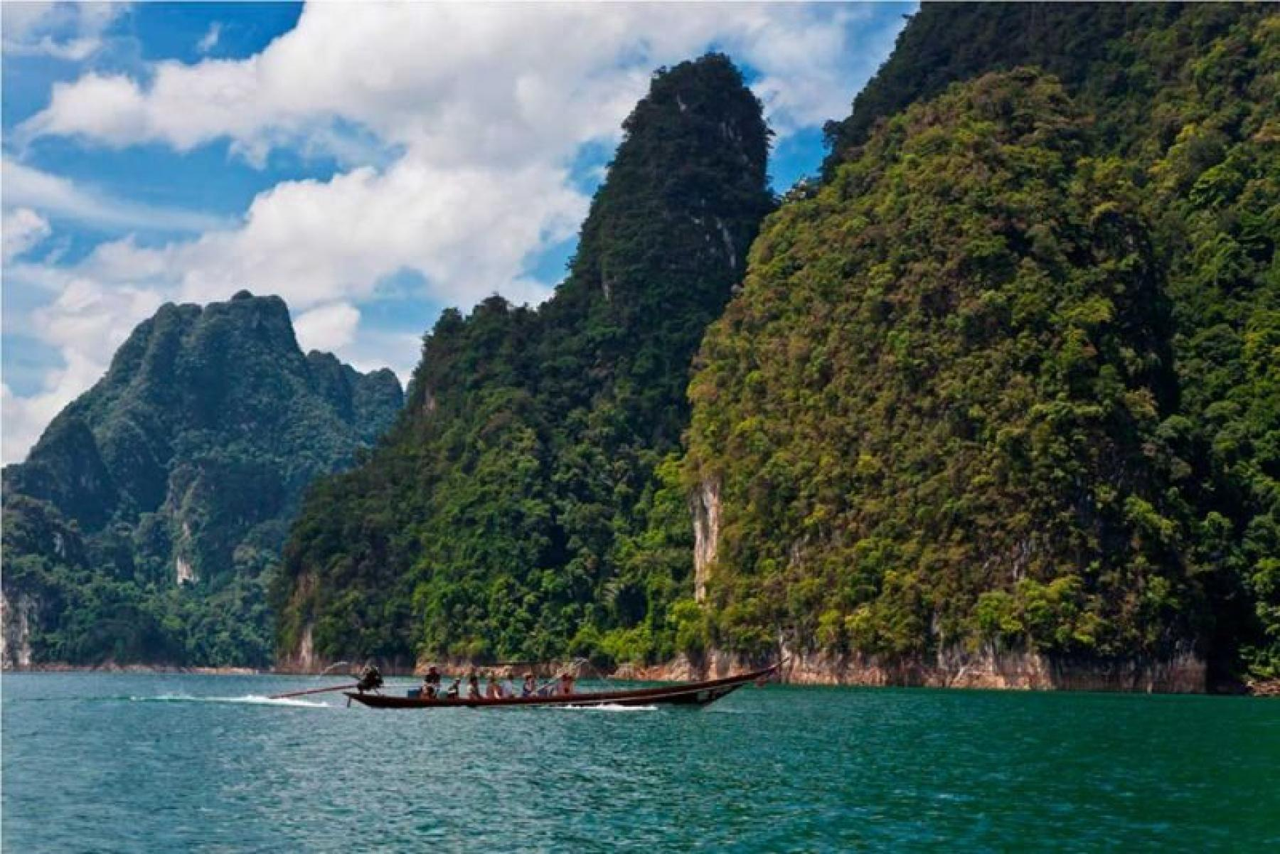 Explore one of the oldest rainforests on floating bungalows - Khao Sok starting at Khao Sok National Park, Khlong Sok, Phanom District, Surat Thani, Thailand