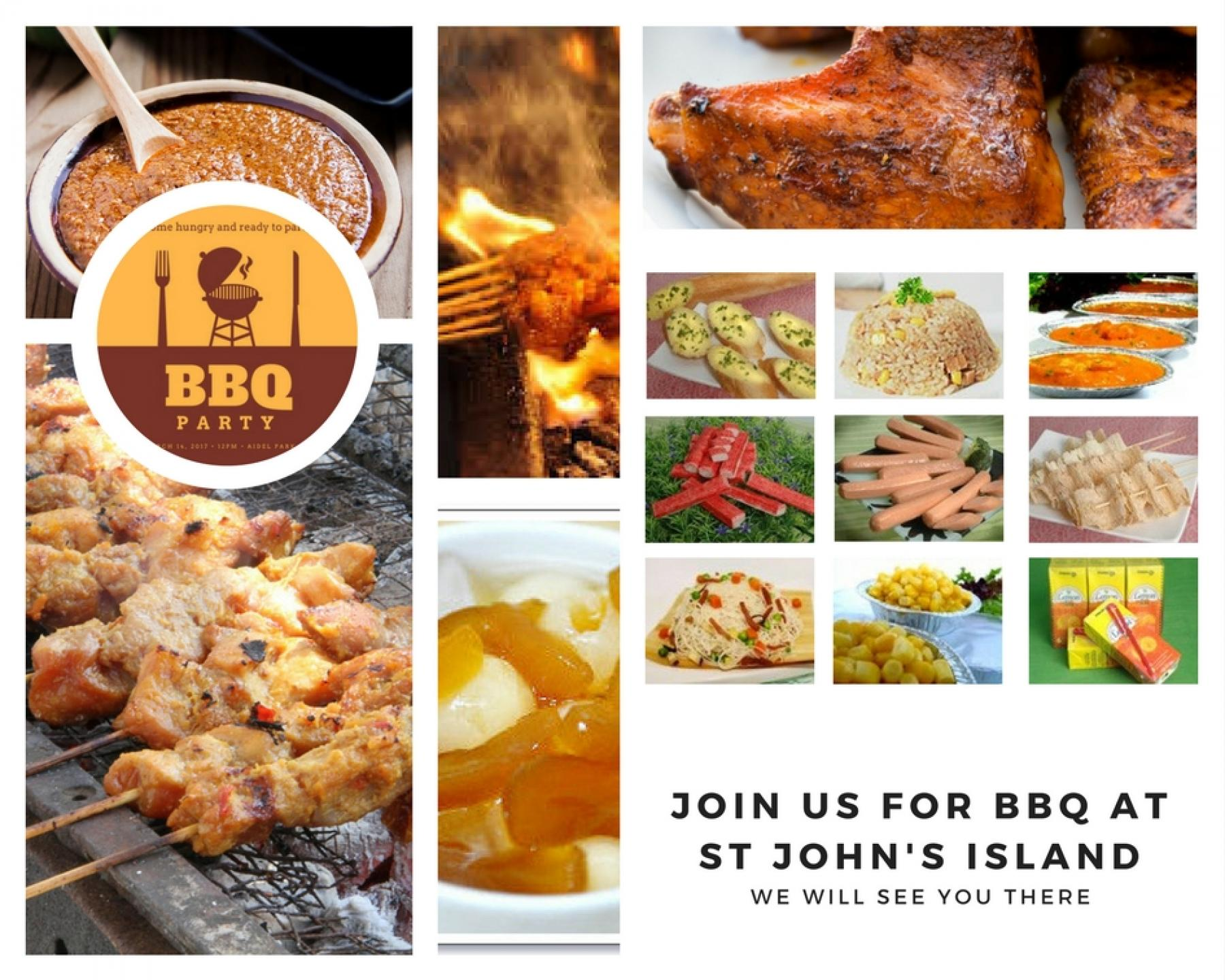 Let's BBQ and rediscover our Southern Islands in a fun way starting at St. John Island Singapore