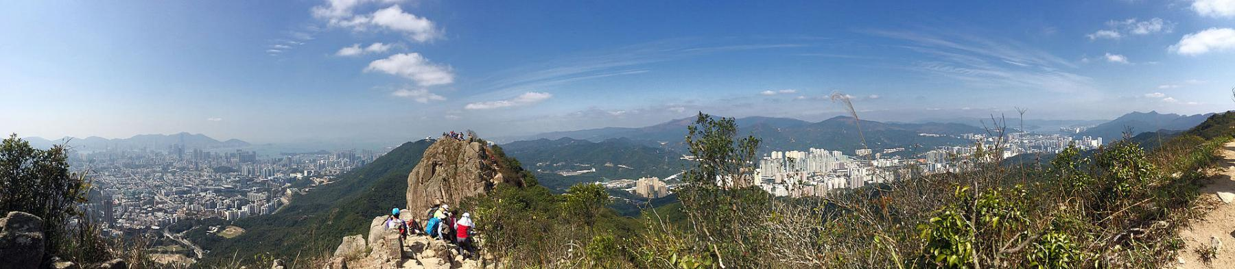 Explore the Great Outdoor in Hong Kong by FOOT to Lion Rock starting at Kowloon, Hong Kong