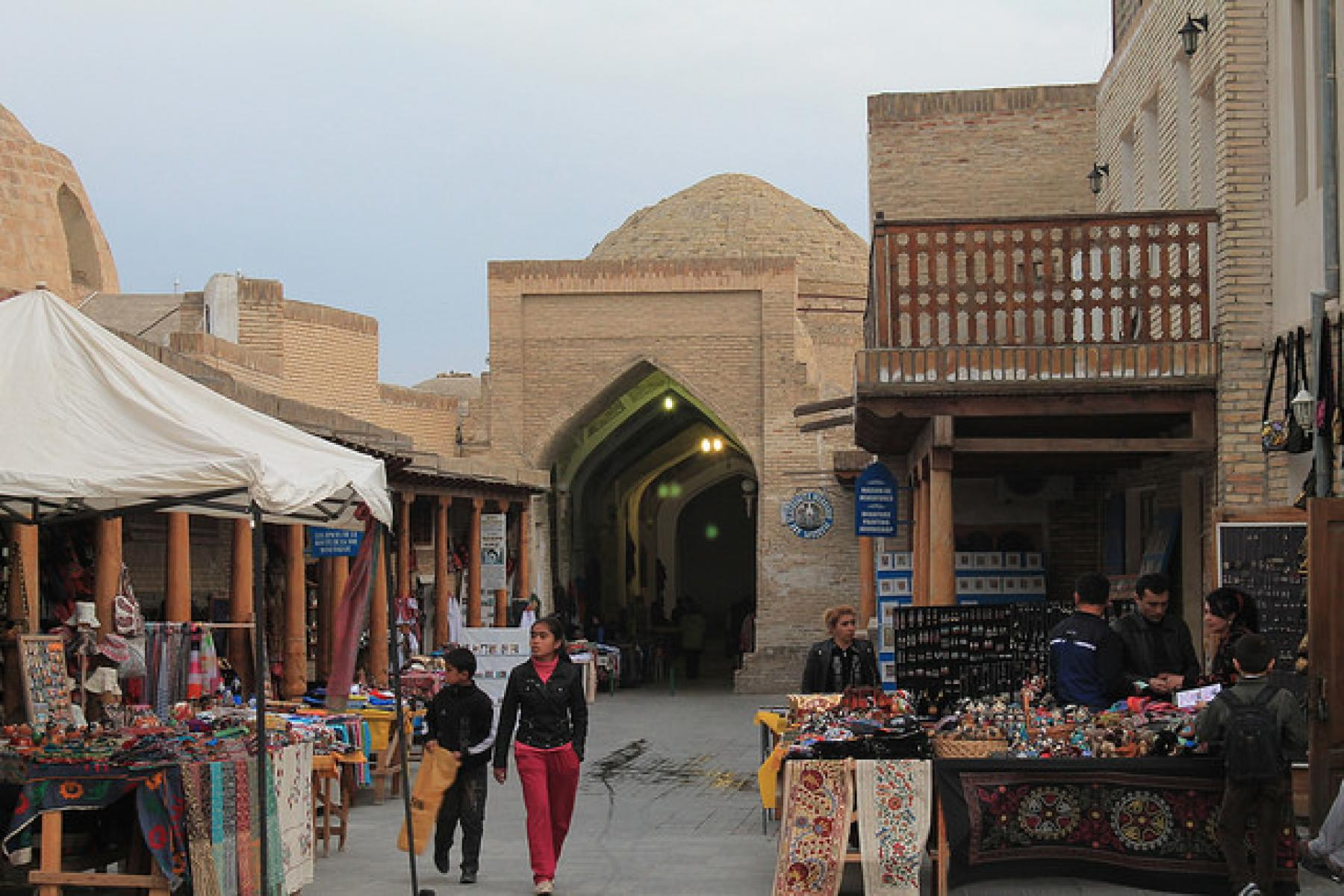 "Let's Travel the Ancient Silk Road Through the Four ""Stans"" of Central Asia starting at Uzbekistan"