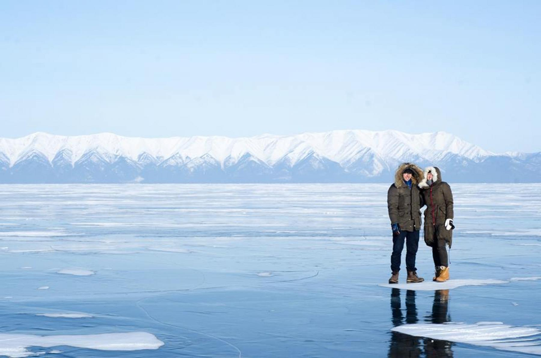 Frozen Magic of Siberia - Amazing Lake Baikal starting at Olkhon Island, Irkutsk Oblast, Russia