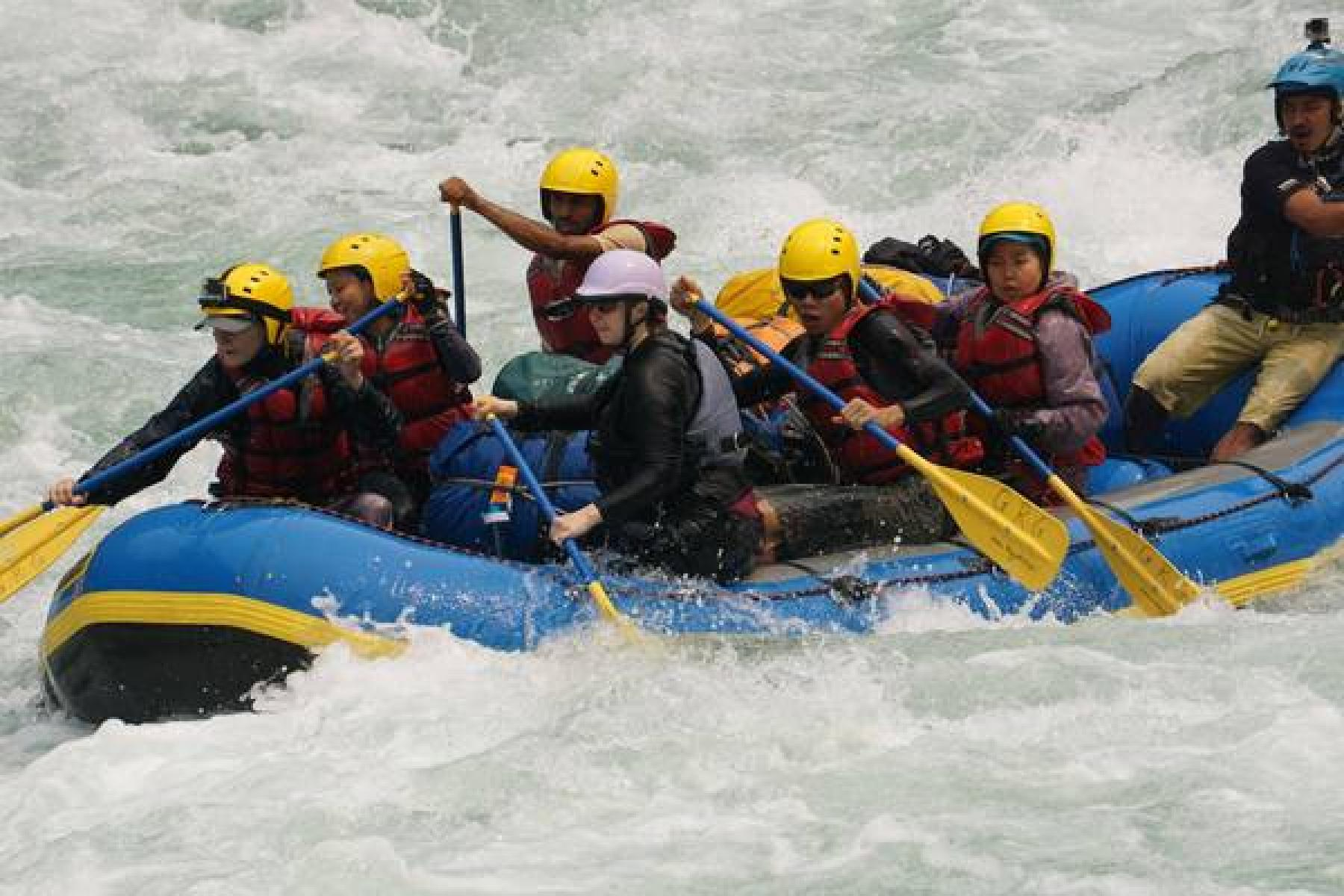Amazing Rafting With Scenic Himalaya Trek starting at Nepal