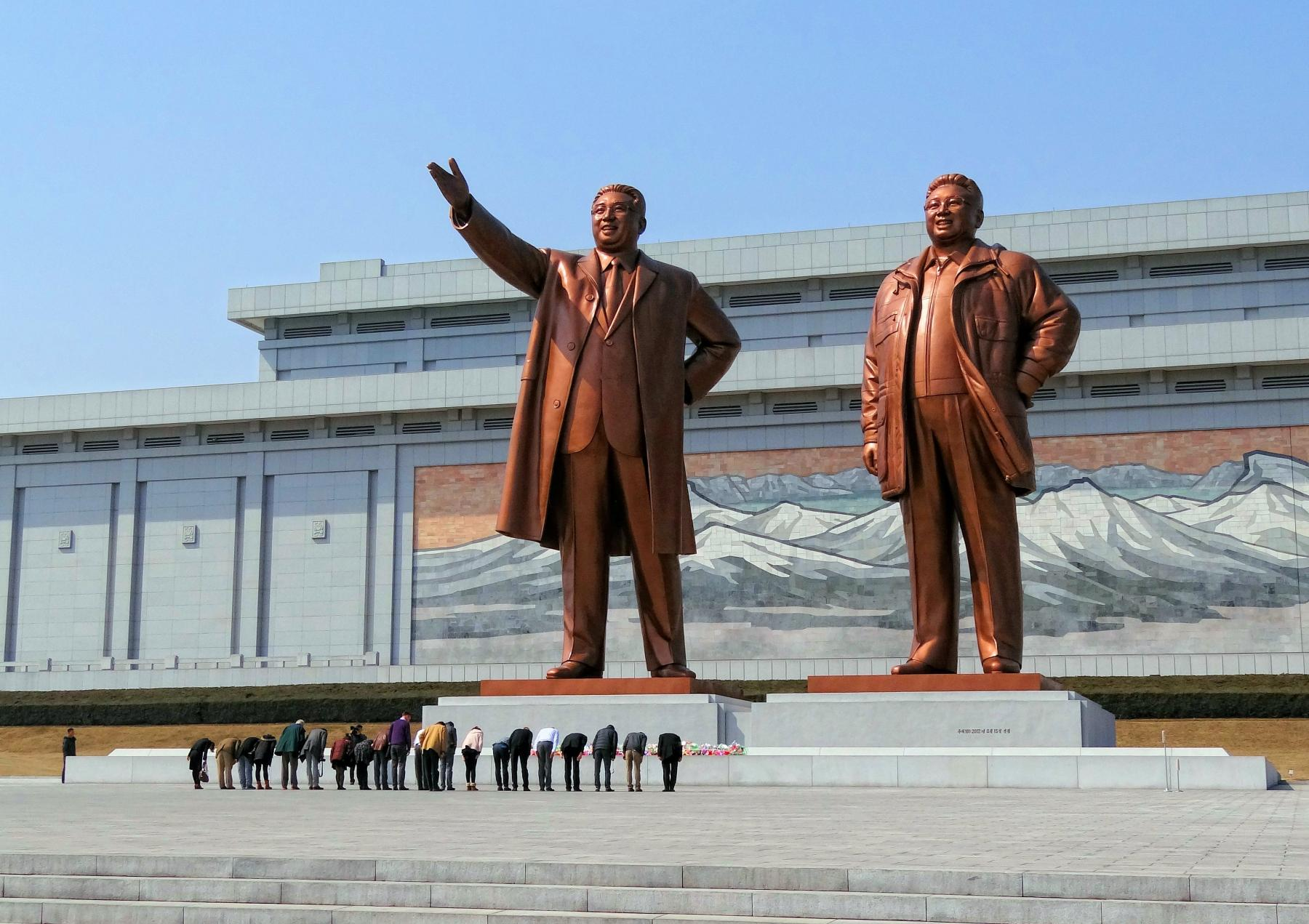 Let's celebrate the world's most secretive country's national day - North Korea starting at North Korea
