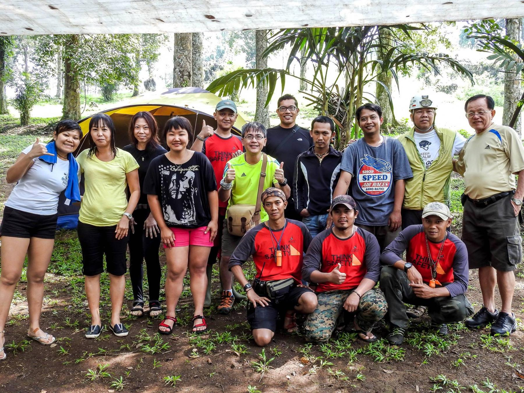 [4D3N] Buniayu Adventure - Vertical Cave and Shower Climbing starting at Sukabumi, West Java, Indonesia