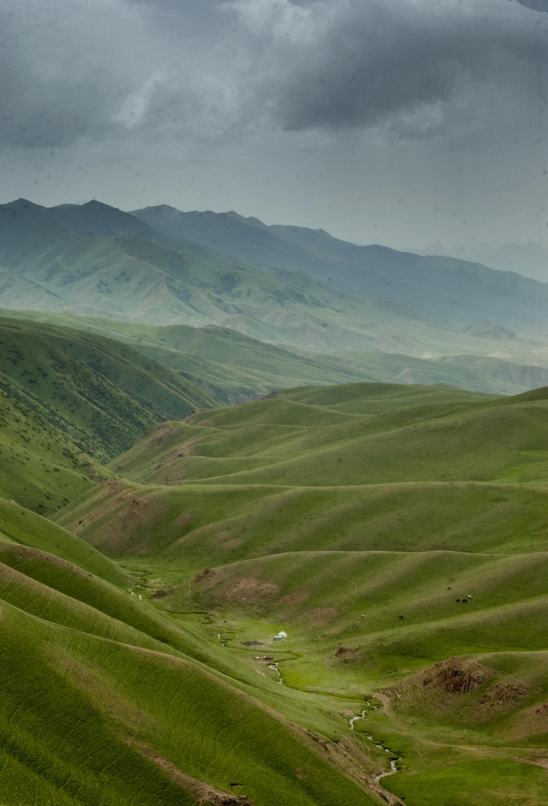 Let's Experience the Life of the Silk Roads Nomads - rerun starting at Kyrgyzstan