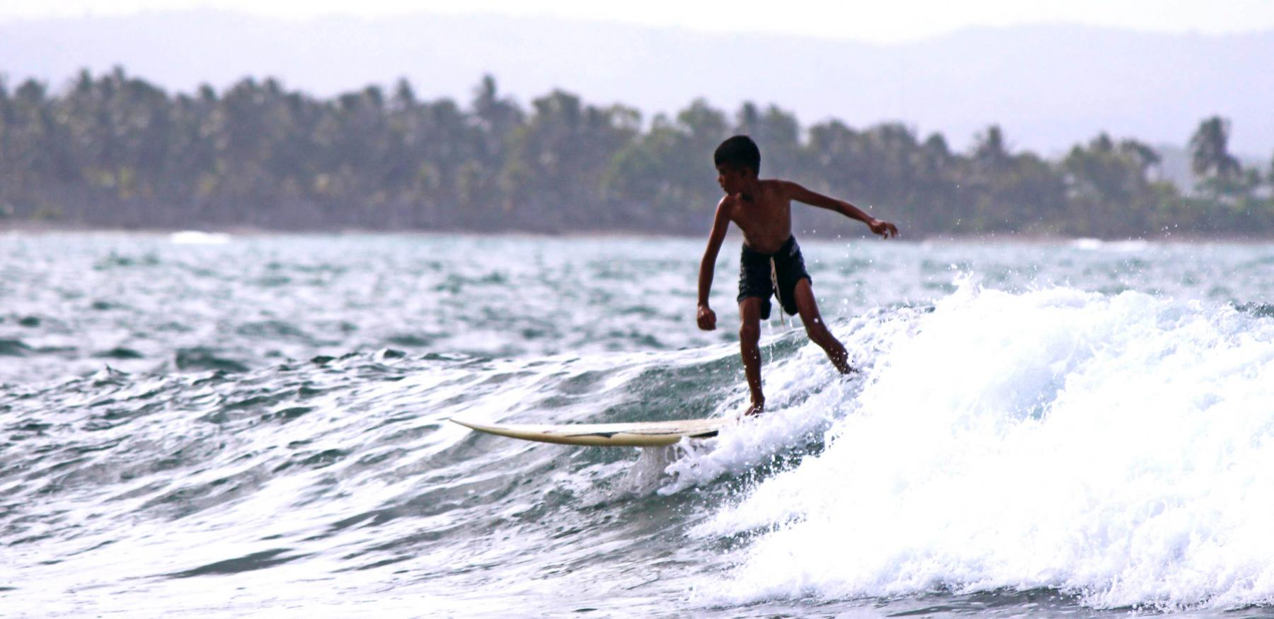5D4N off the beaten path: Learn to surf in a small fishing village on Java -Aug starting at Batu Karas Surf Spot, Batukaras, Pangandaran Regency, West Java, Indonesia