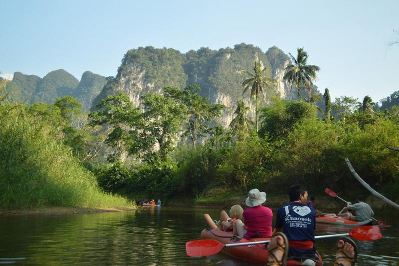 Khao Sok - Explore One of the Oldest Rainforests on Floating Bungalows starting at Thailand