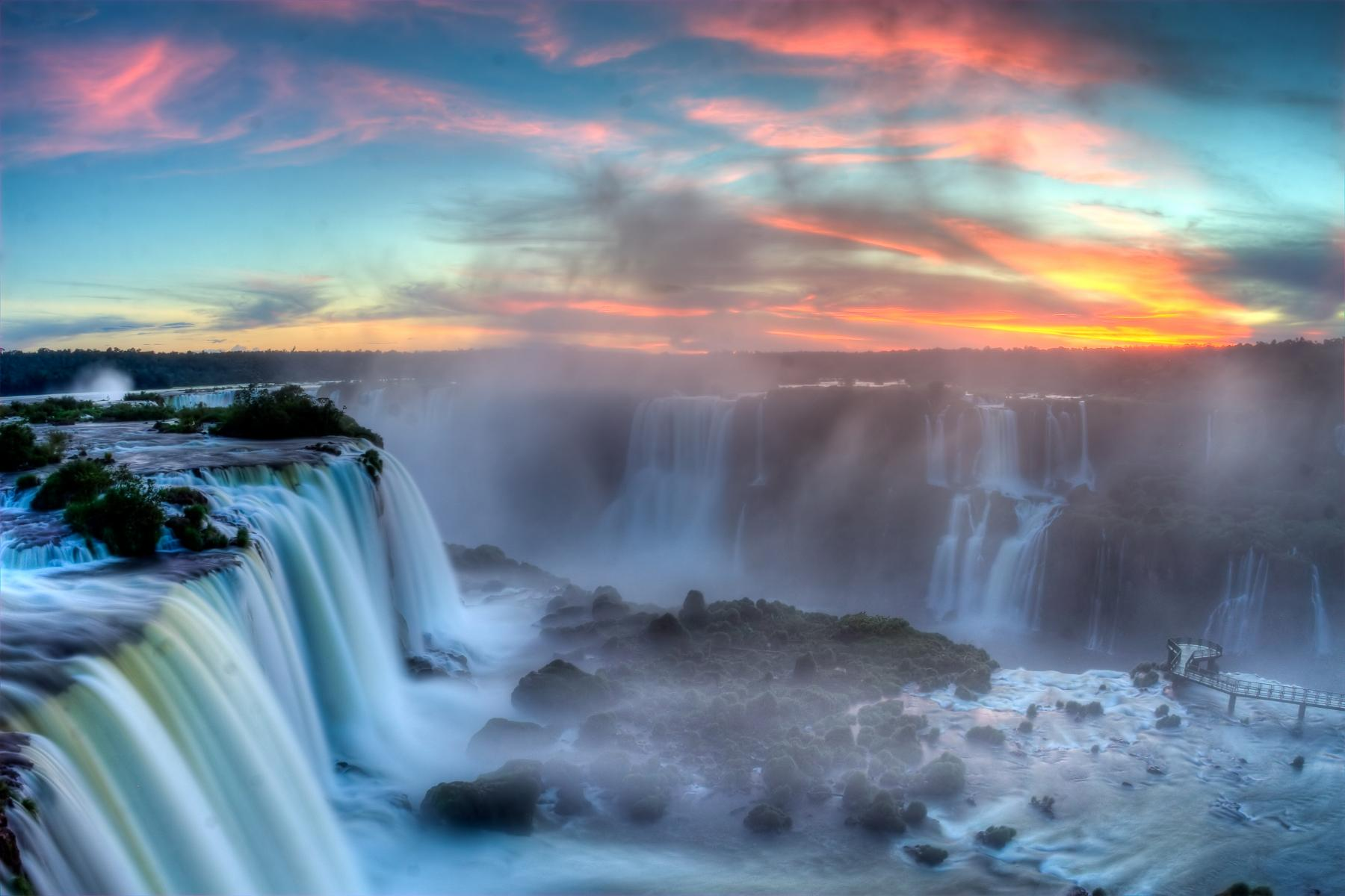 Vibrant cities to lands of waterfalls, moon, mars, desert, geysers, salt plains starting at South America
