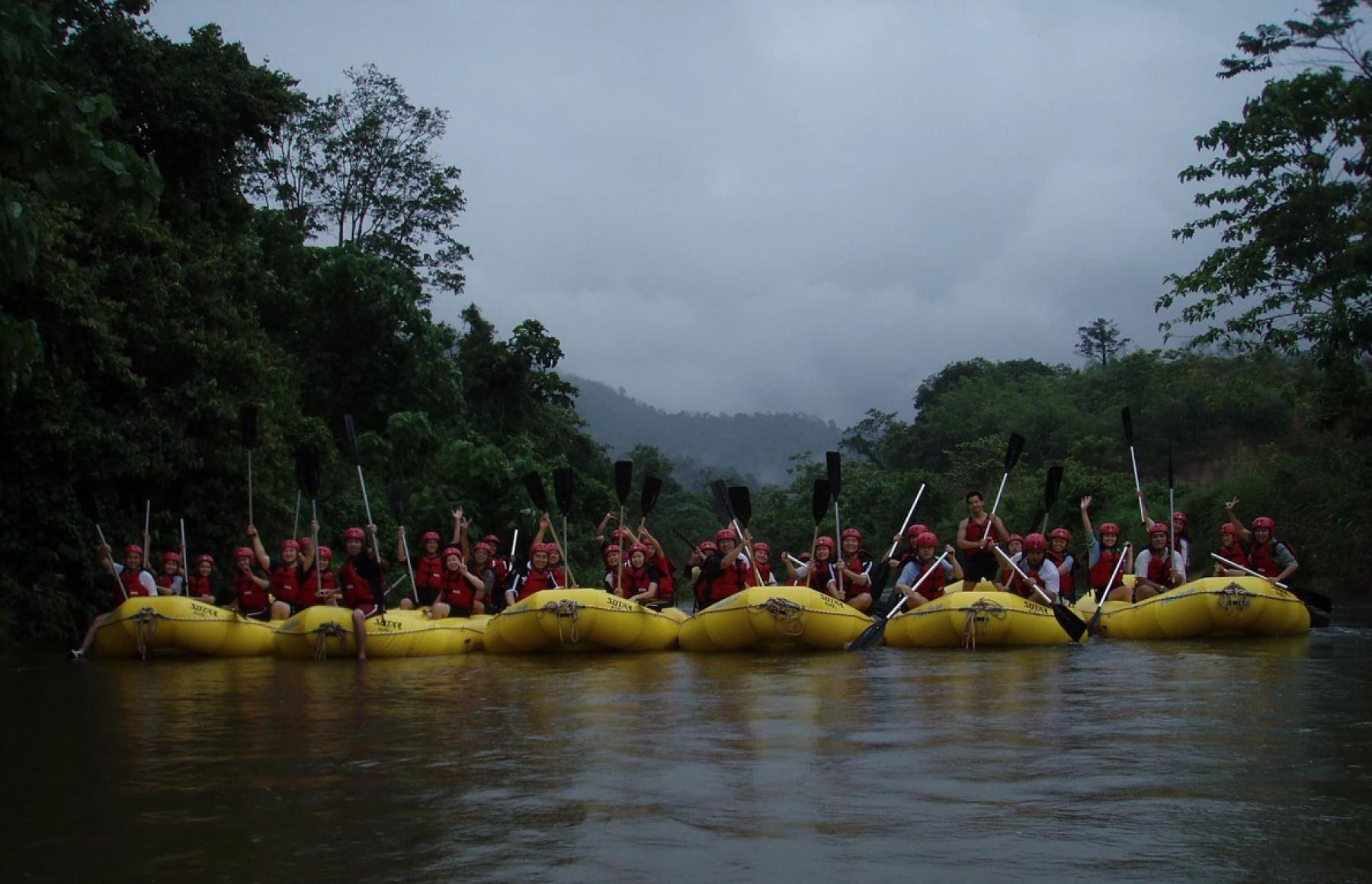 An adventurous weekend away from the city, into the rainforest and river! starting at Malaysia, Kuala Lumpur