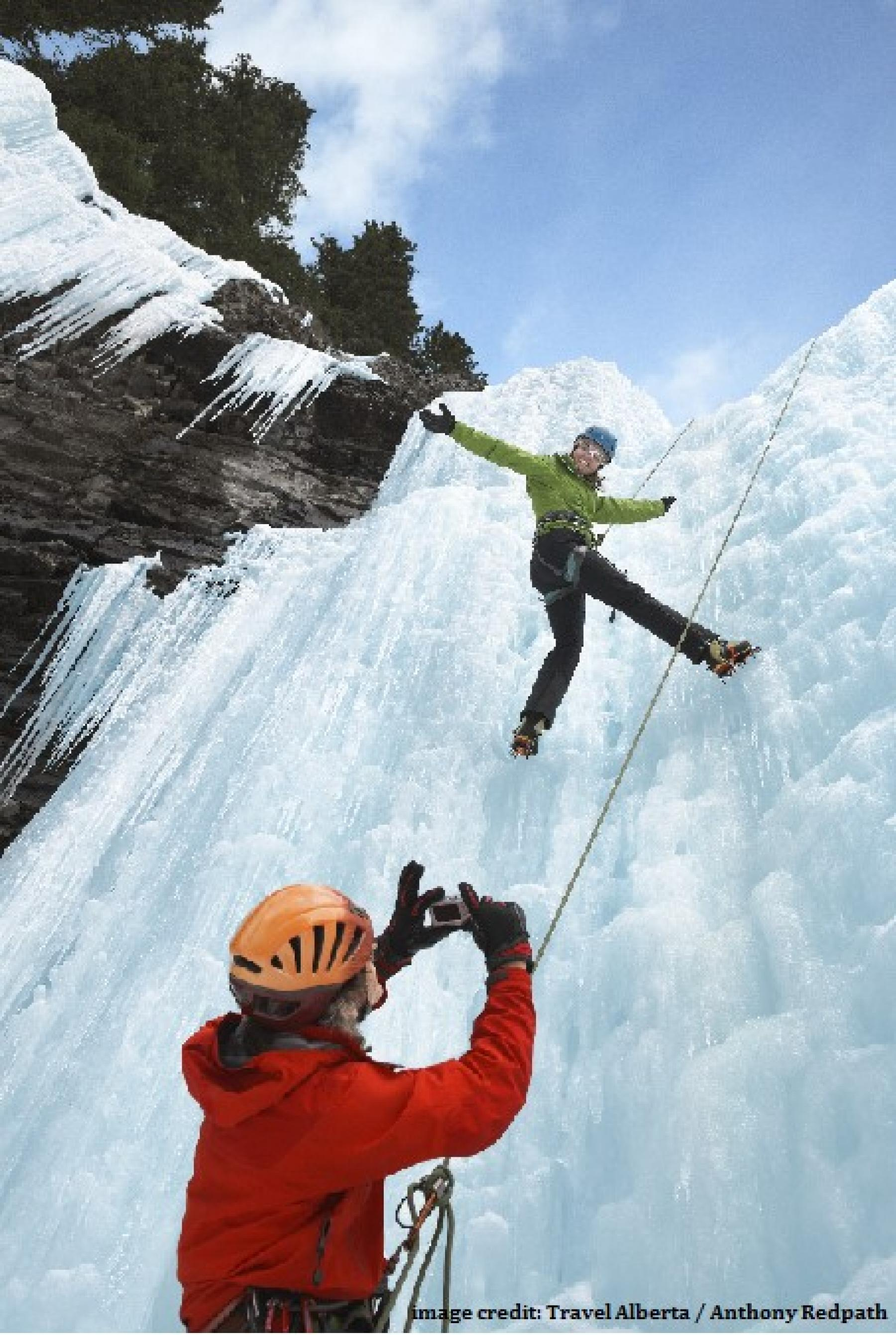 Intro to Ice Climbing plus Winter Fun in the Canadian Rockies! - March 2018 starting at Canadian Rockies