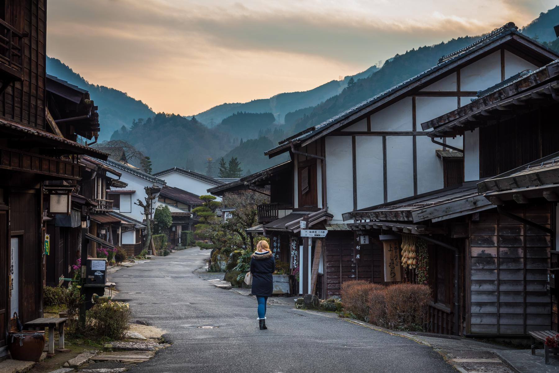 Follow the foot steps of the feudal lords of Japan - Nakasendo and Kiso Valley starting at Osaka Prefecture, Japan