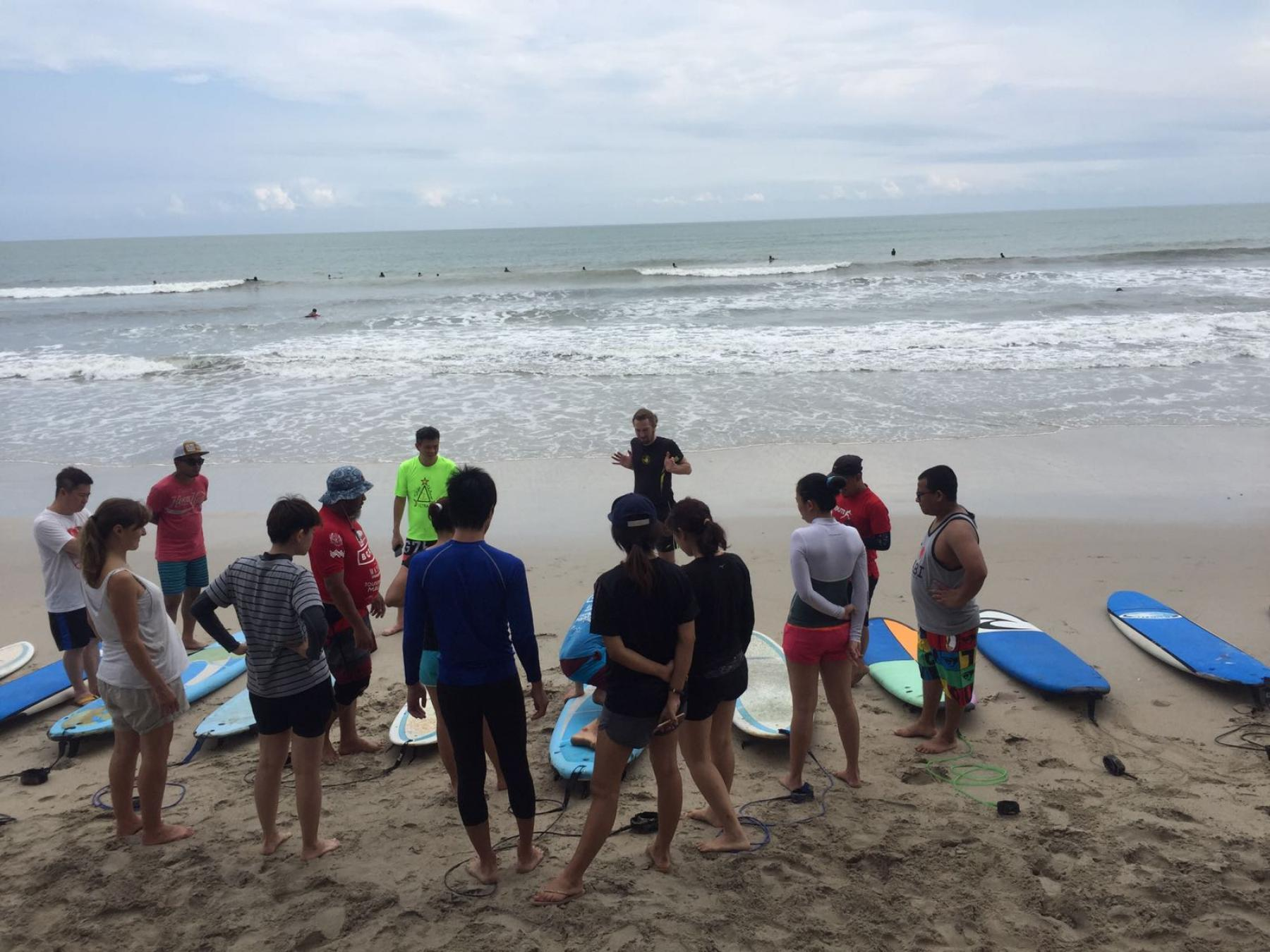 Let's learn surfing for a day (beginners welcome) - Jan 21 starting at Tanjung Sedeli Johor Malaysia