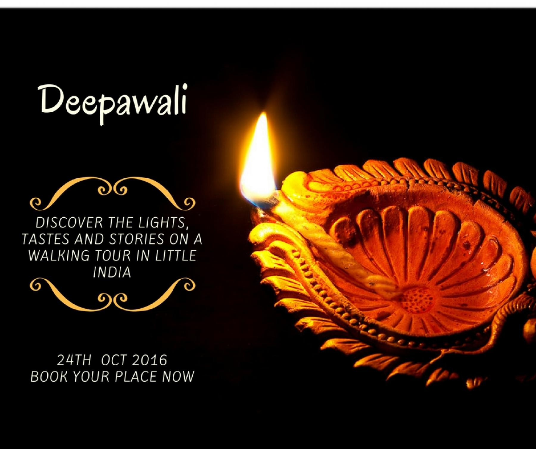 Discover the Lights, Tastes and Stories of Deepawali starting at Little India Arcade Singapore