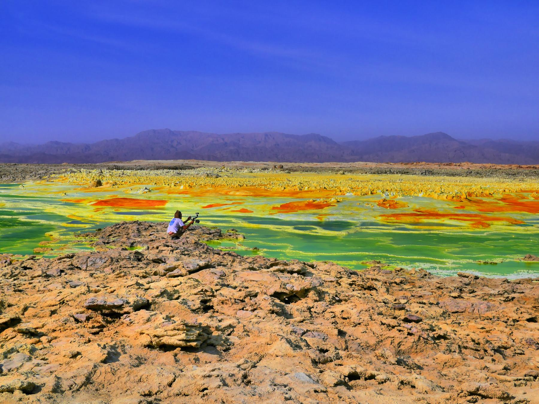 Ethiopia - the alien landscapes found on earth starting at Addis Ababa, Ethiopia