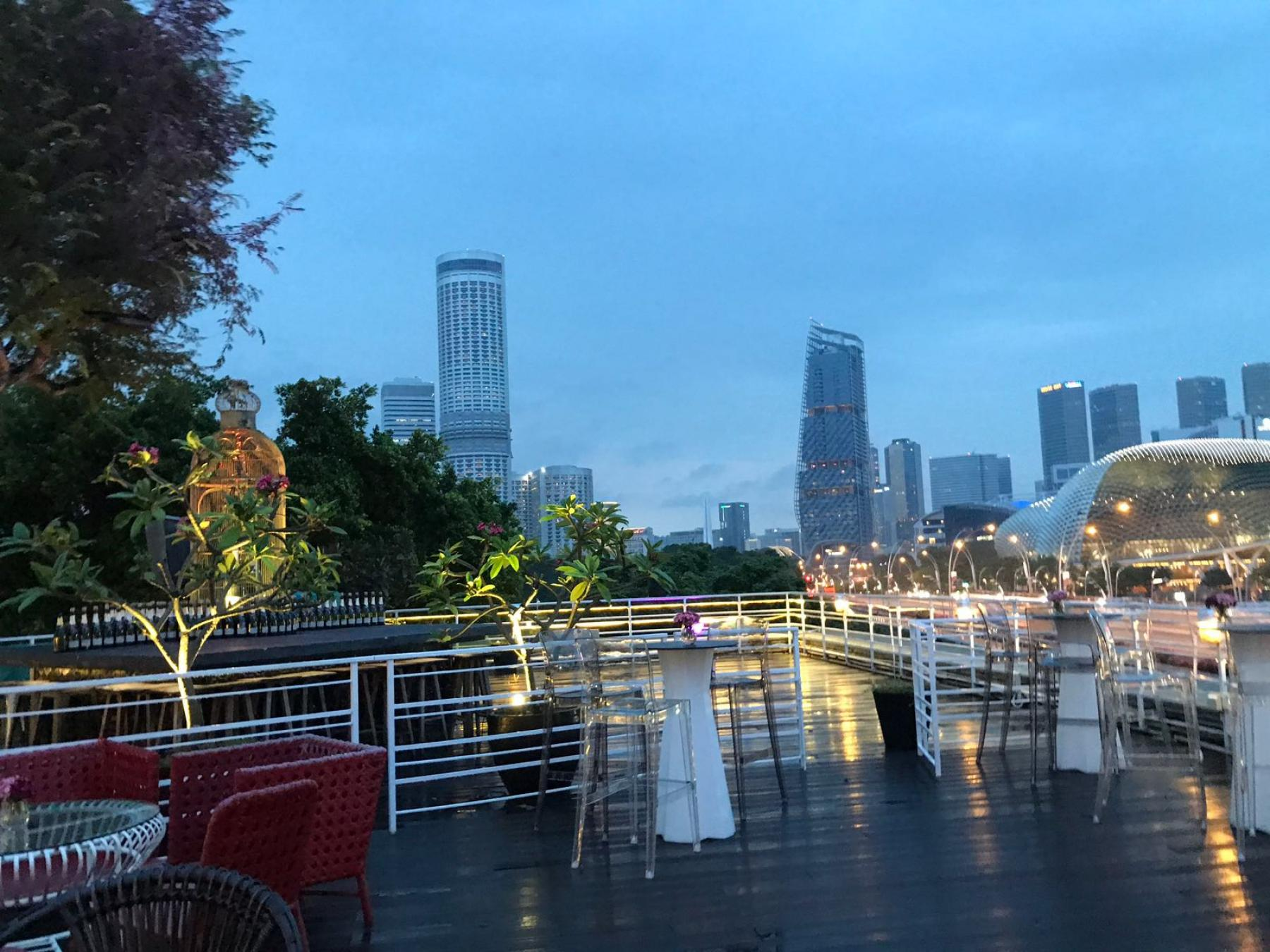 Let's cafes hop over the weekend starting at 11 Collyer Quay, Singapore