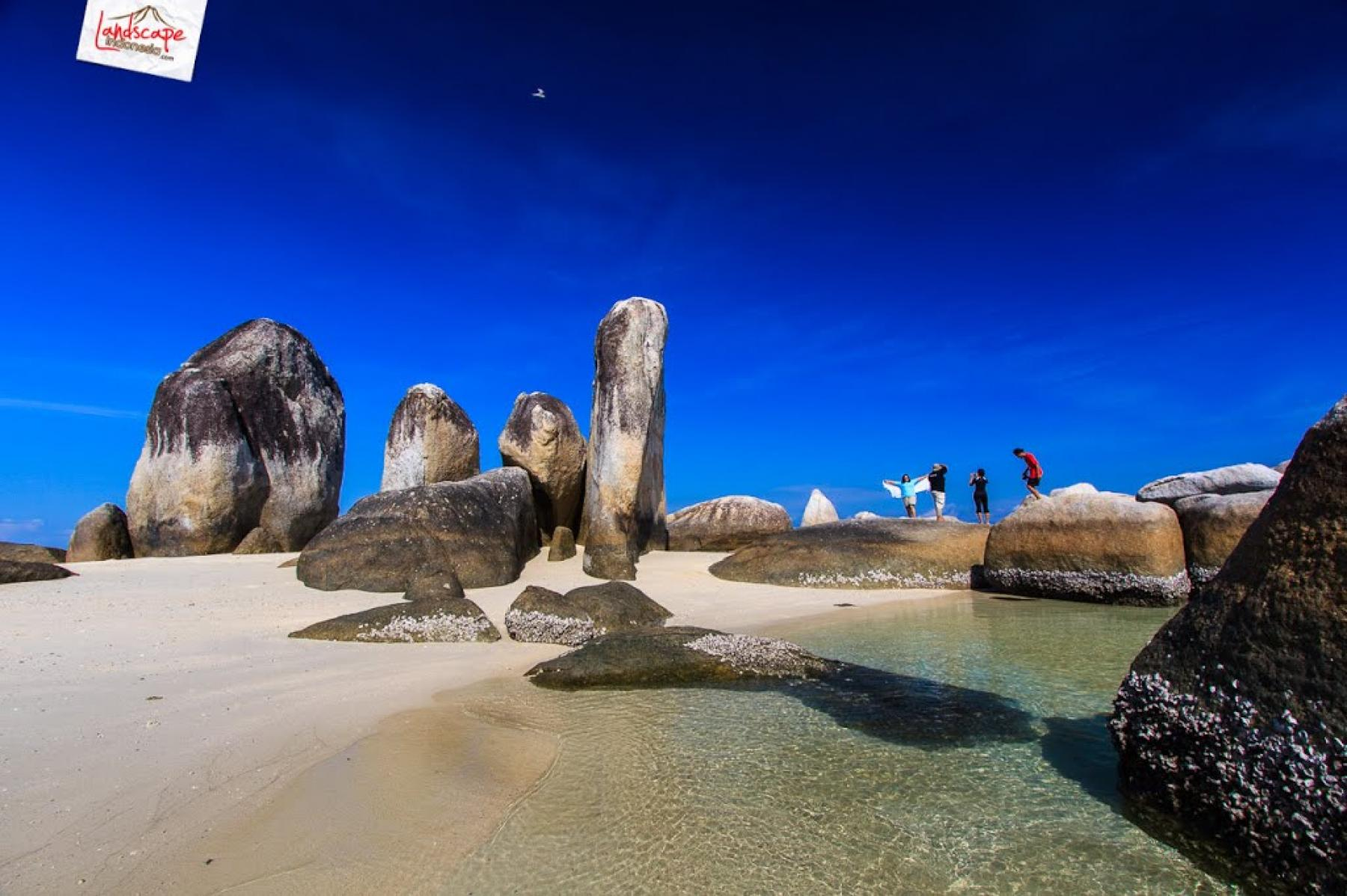 Let's experience a warm white Christmas starting at Belitung, Bangka Belitung Islands, Indonesia