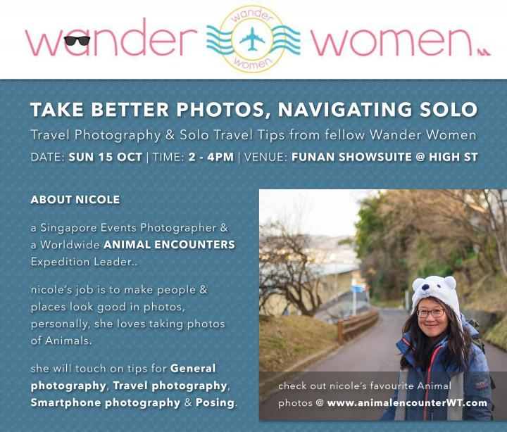 Wander Women Travel Talk - Take Better Photos , Navigating Solo